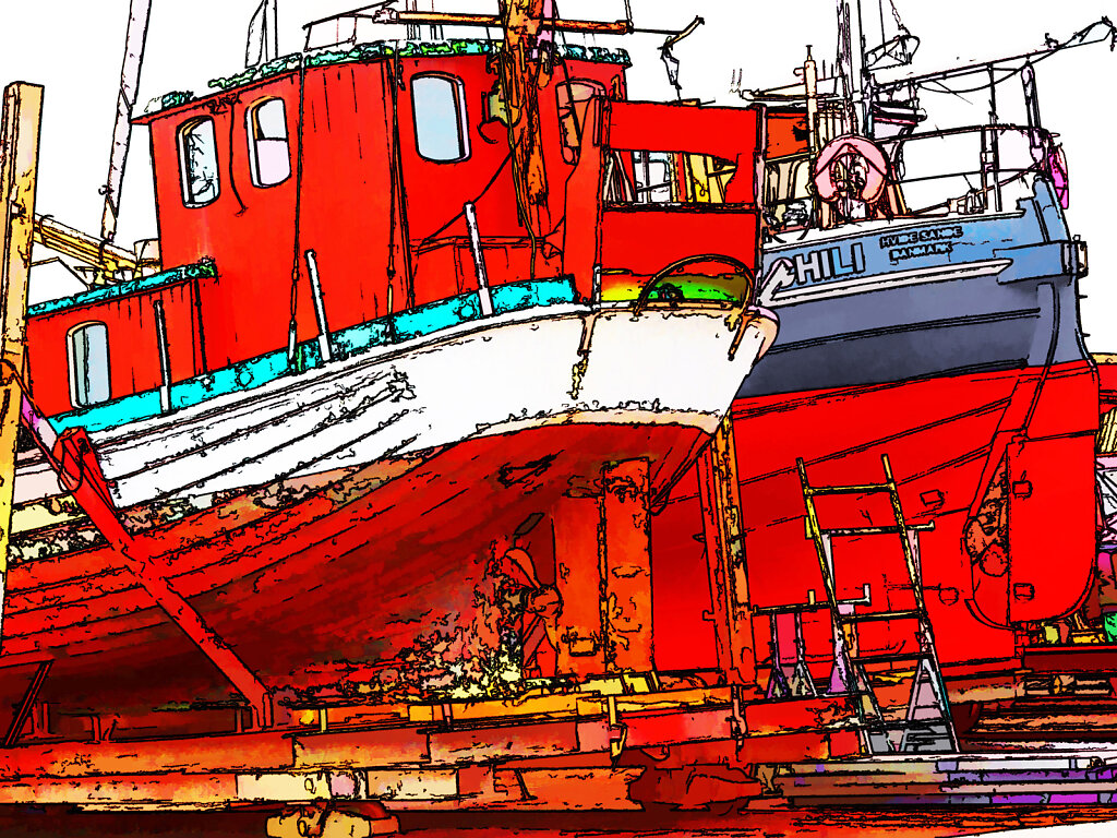 a small danish shipyard